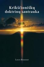 Krikščioniškų doktrinų santrauka