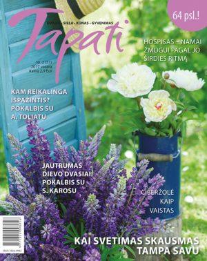 TAPATI. Žurnalas moterims Nr. 2 (51) 2017 vasara