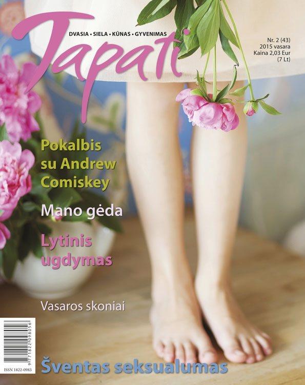 TAPATI. Žurnalas moterims Nr. 2 (43) 2015 vasara