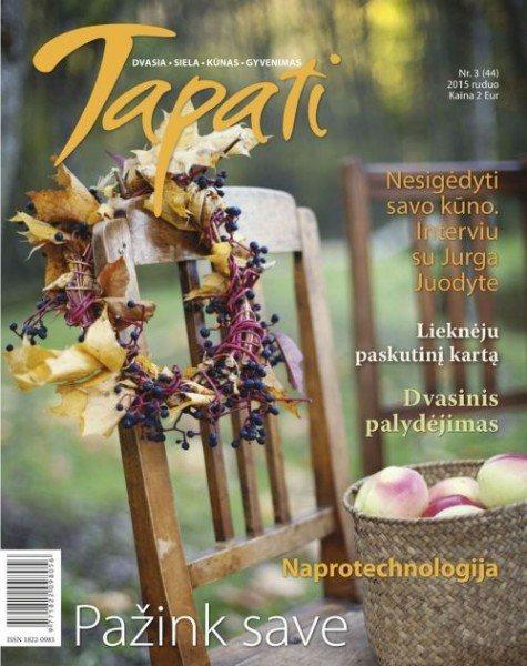 TAPATI. Žurnalas moterims Nr. 3 (44) 2015 ruduo