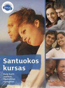 """VIDEO SEMINARAS """"SANTUOKOS KURSAS"""" (DVD)"""
