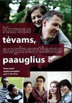 KURSAS TĖVAMS, AUGINANTIEMS PAAUGLIUS