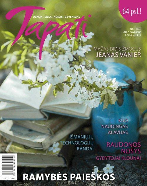 TAPATI. Žurnalas moterims Nr. 1 (50) 2017 žiema