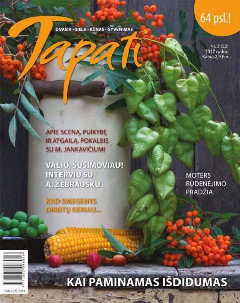 TAPATI. Žurnalas moterims Nr. 3 (52) 2017 ruduo