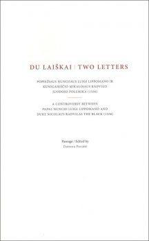 Du laiškai   Two letters. Parengė Dainora Pociūtė