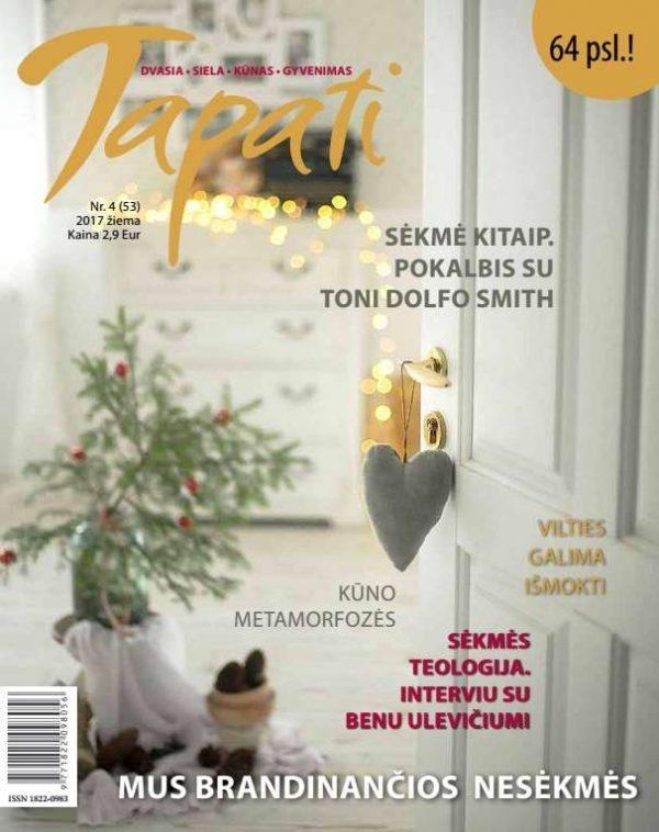 TAPATI. Žurnalas moterims Nr. 4 (53) 2017 žiema