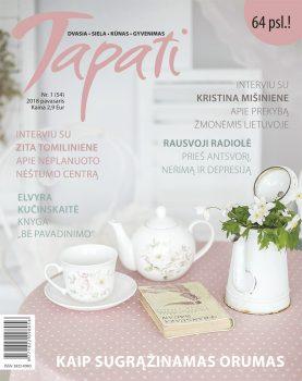 TAPATI. Žurnalas moterims Nr. 1 (54) 2018 pavasaris