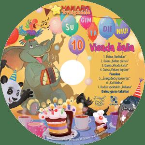 Vakaro žvaigždelė. Žurnalas vaikams 2018 ruduo, Nr. 40 + CD