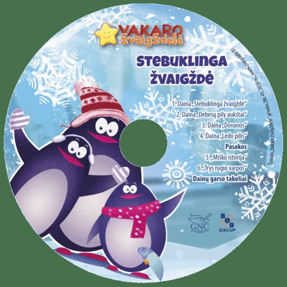 Vakaro žvaigždelė. Žurnalas vaikams 2018 žiema, Nr. 41 + CD