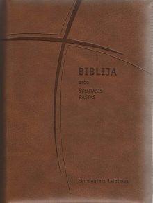 Biblija 15 x 22 cm, ekumeninė, su užtrauktuku 2019 m.