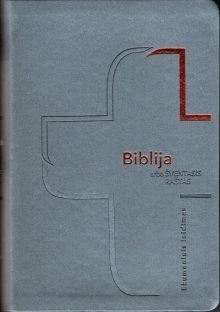 Biblija 14,5 x 21 cm, ekumeninė lanksčiais viršeliais 2019 m.