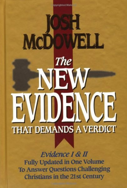 Įrodymai, reikalaujantys nuosprendžio. Josh McDowell