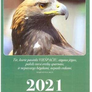 2021-ųjų metų kalendorius