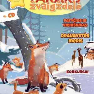 Vakaro žvaigždelė. Žurnalas vaikams 2019 žiema, Nr. 45 + CD