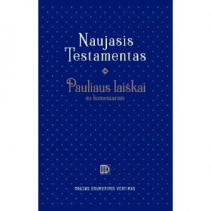 Pauliaus laiškai su komentarais. Naujas ekumeninis vertimas