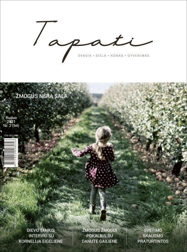 TAPATI. Žurnalas moterims Nr. 3 (64) 2021 ruduo